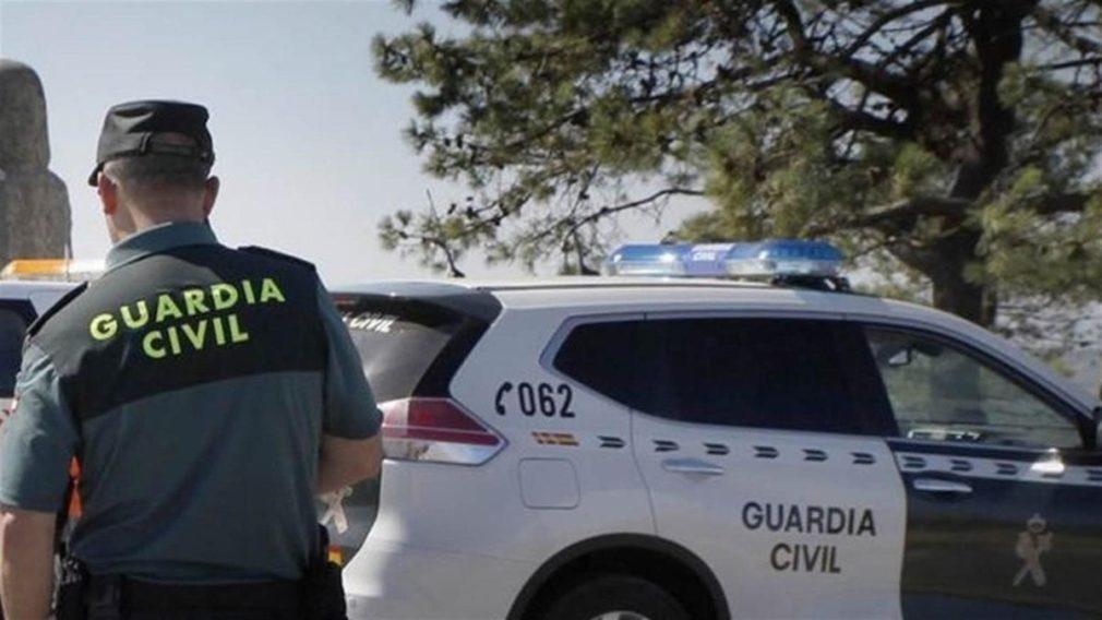 coche agente guardia civil