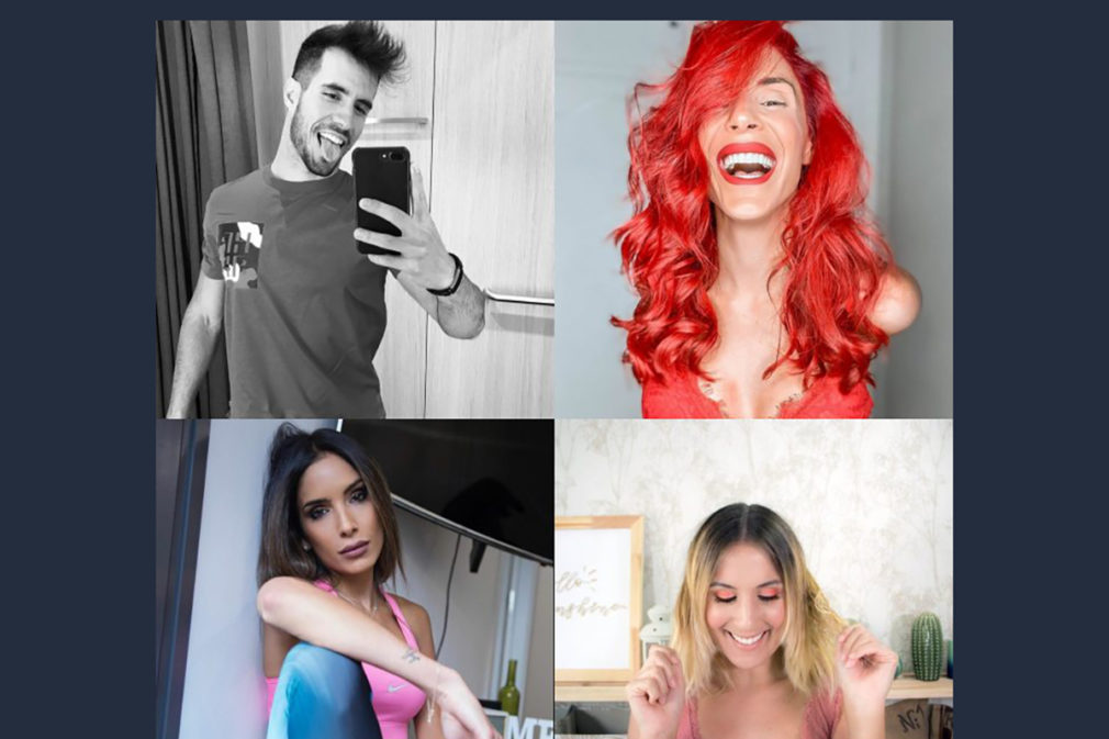 collage influencers