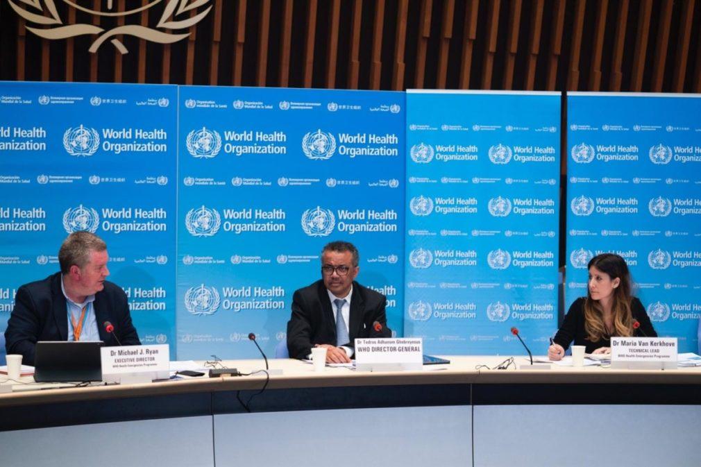 El director general de la Organización Mundial de la Salud, Tedros Adhanom Ghebreyesus, comparece en rueda de prensa para informar sobre la evolución de la pandemia de coronavirus