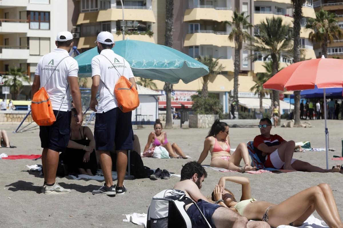 vigilantes playas almuñécar