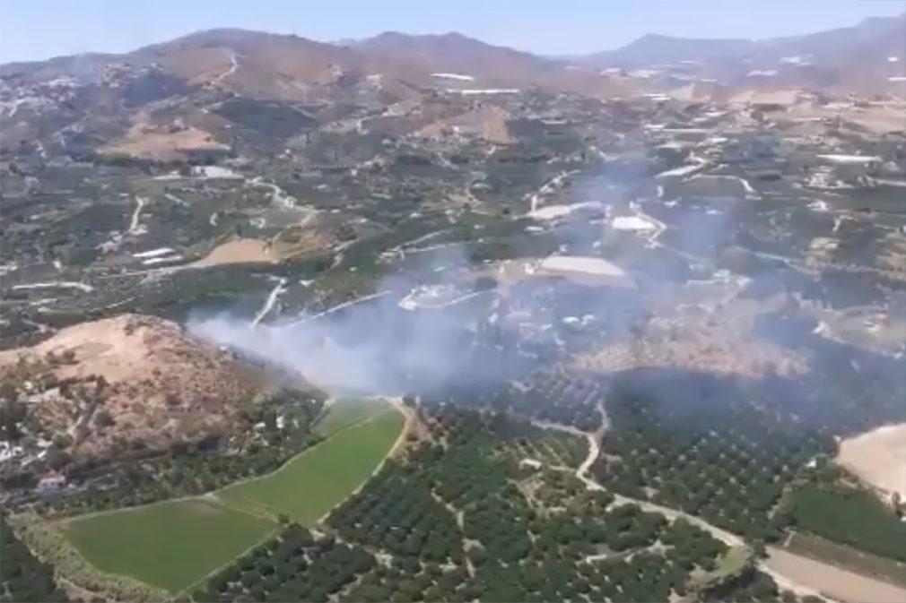 incendio forestal Salobreña paraje Cerro Hacho - Plan Infoca