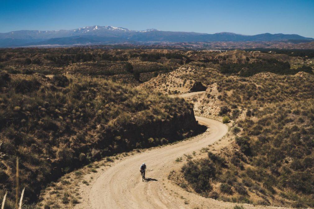 Granada-almería-ciclista-carrera