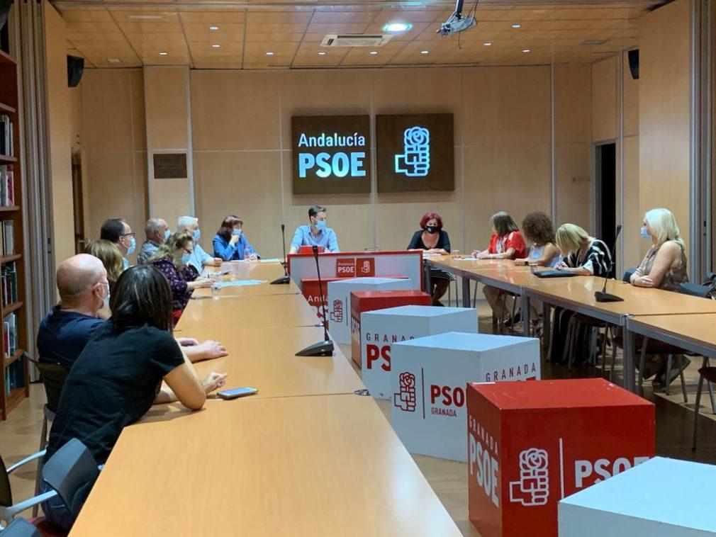 FOTO. PSOE Centros discapacidad 20200925