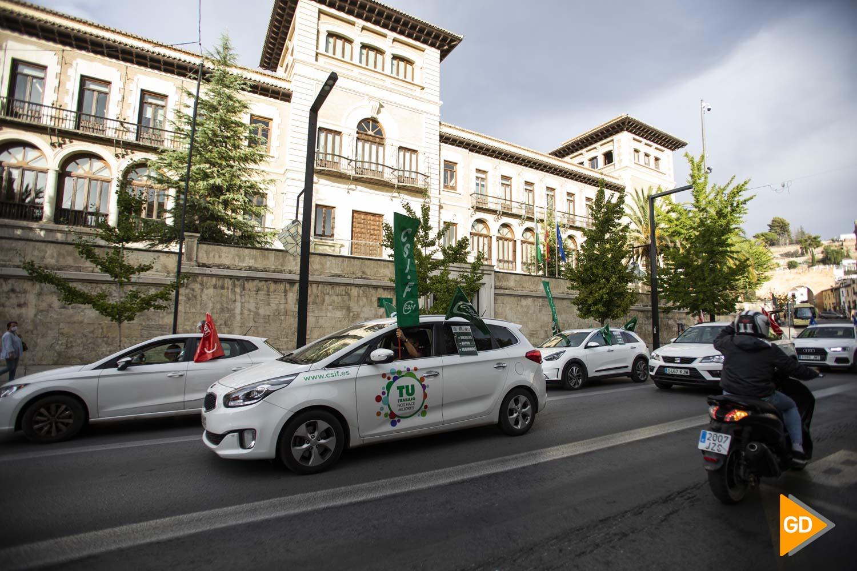Caravana por la educación en Granada