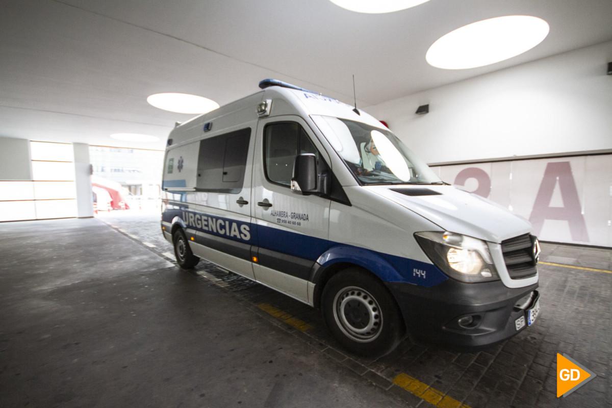 PTS Hospital Clínico San Cecilio durante el estado de alerta por coronavirus