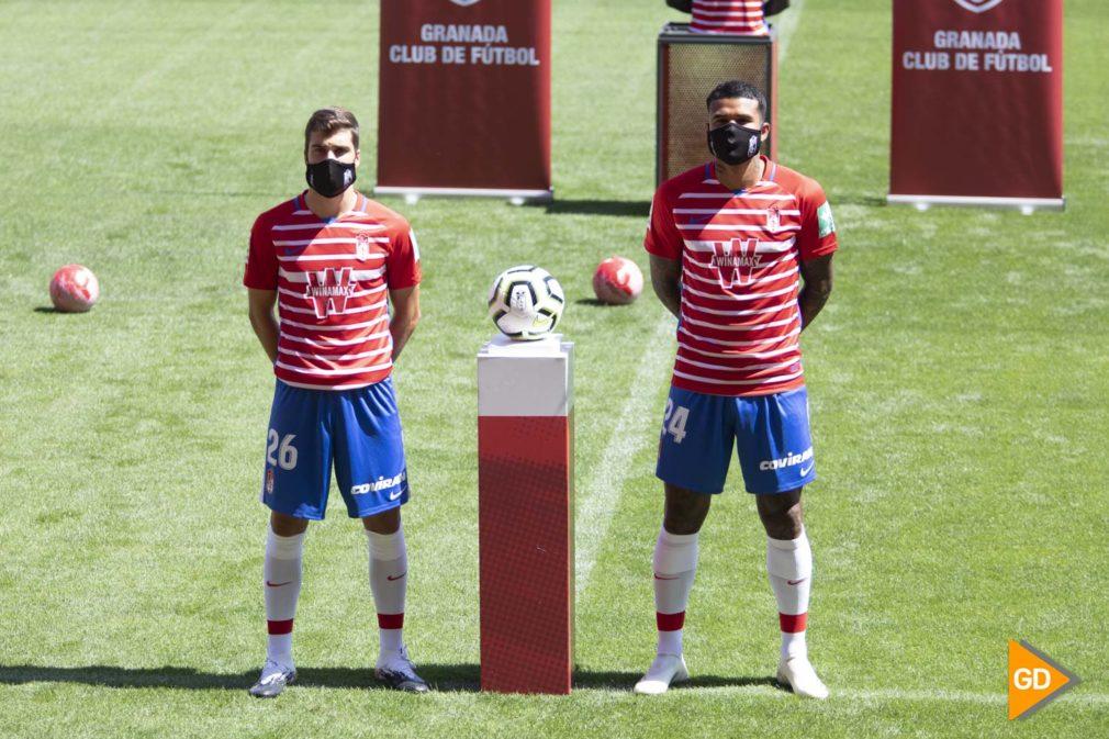 Presentación de Soro y Kenedy como nuevos jugadores del Granada CF