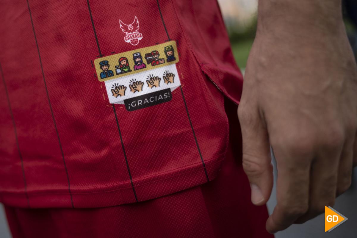 Presentacion de la nueva camiseta del Fundación CB Granada