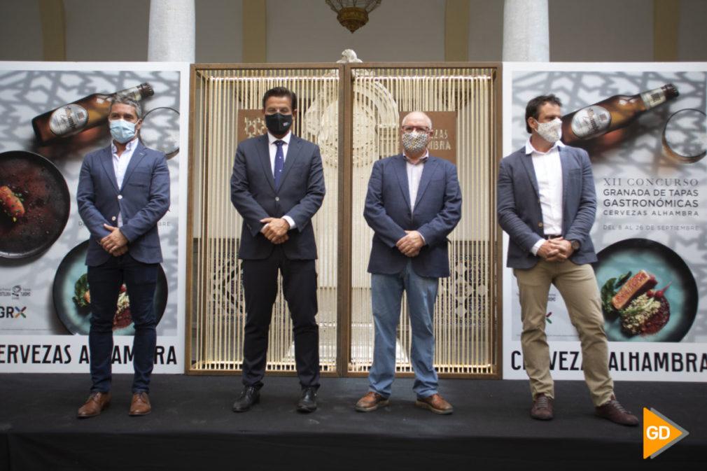Presentacion del concurso de tapas de cervezas Alhambra