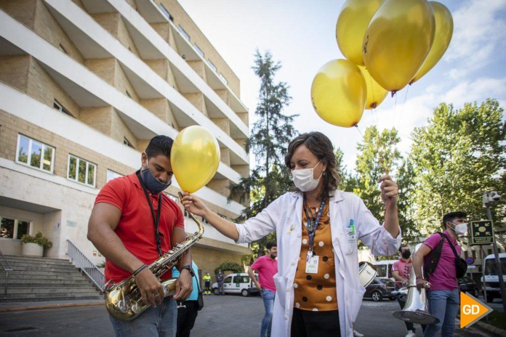charanga Popi Stars dentro de la campaña de sensibilización sobre cáncer infantil