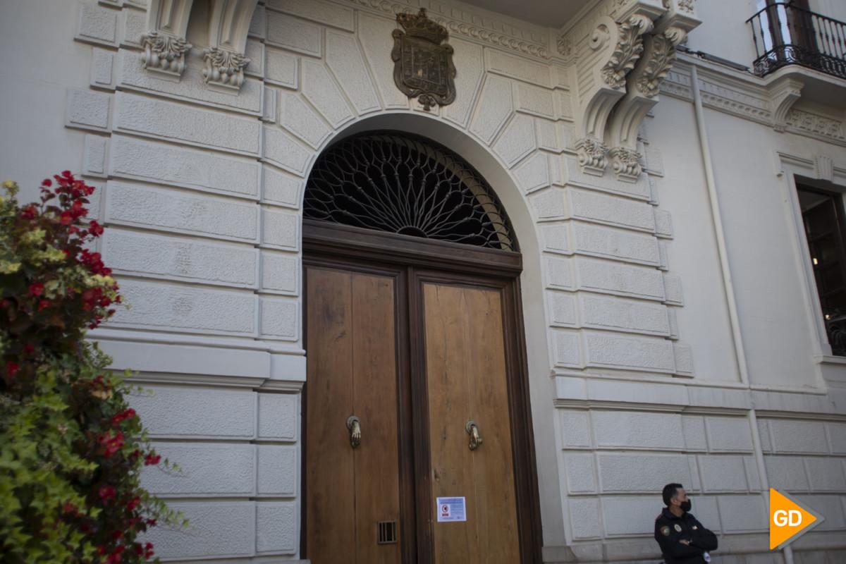 Foto Maria Jose Ramirez - ayuntamiento cerrado por coronavirus-4
