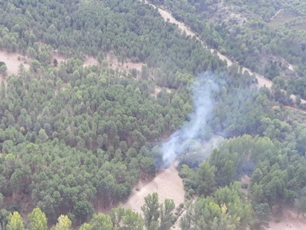 Granada.- Incendios.- Declarado un incendio forestal en Nívar