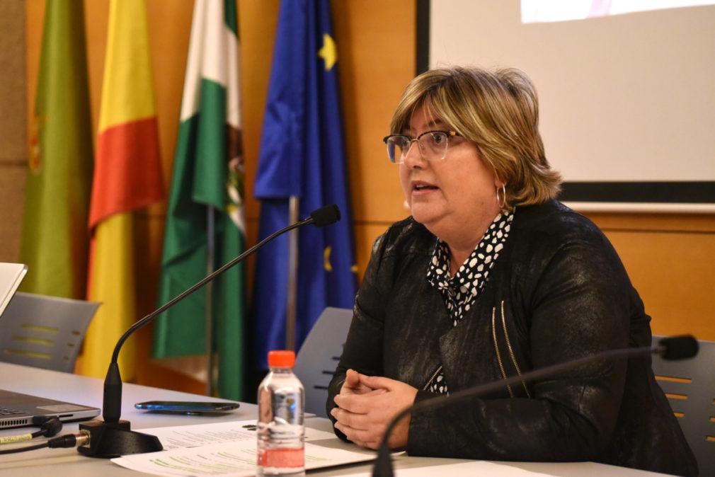 La diputada provincial de Empleo y Desarrollo Sostenible, Ana Muñoz