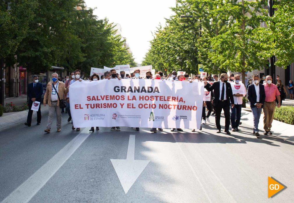Manifestacion Hosteleria Carlos Gijon-11
