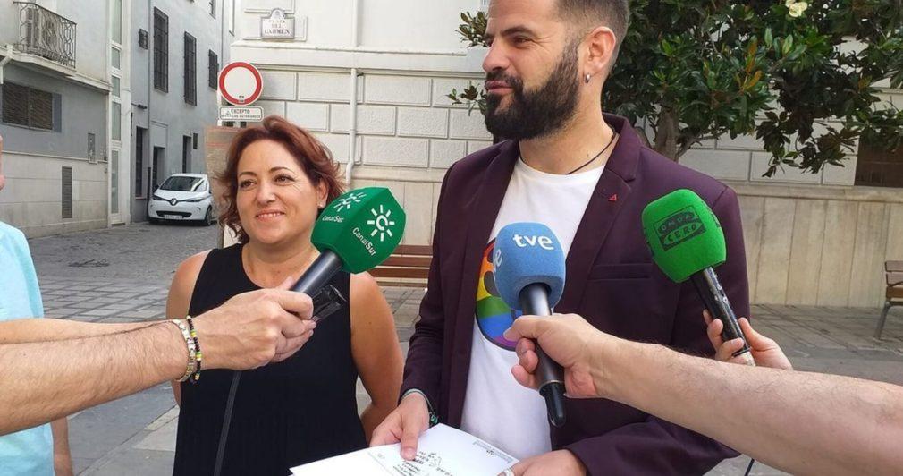 El diputado autonómico de Adelante Andalucía, Jesús Fernández, en una imagen de archivo