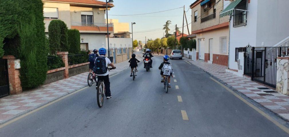 Movilidad sostenible Cullar Vega