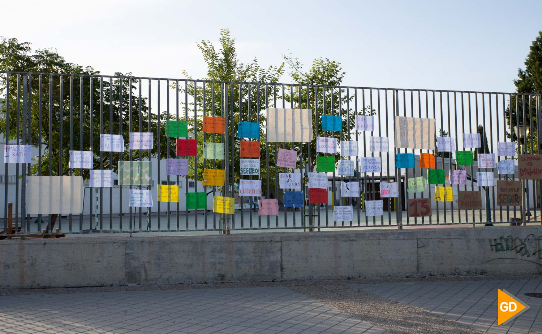 Protesta madres y padres Colegio Vivaldi Carlos Gijon-8