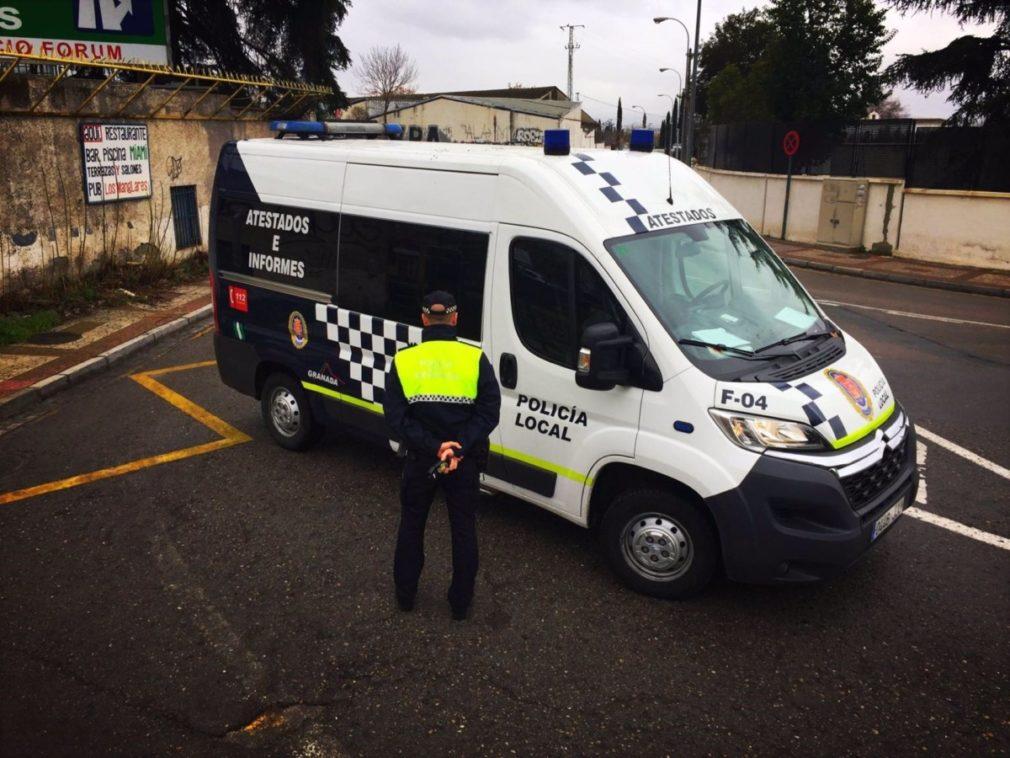 Granada.- Coronavirus.- La Policía Local cierra el fin de semana con 36 denuncias por botellón