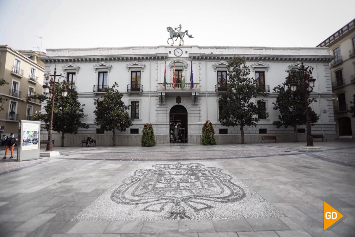 ayuntamiento granada abierto 300920 Foto Antonio L Juarez