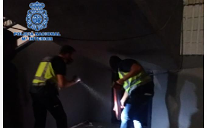 dispositivo zona norte Granada policia nacional