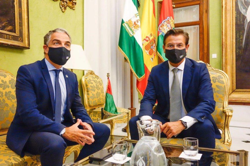 Granada.- La Junta anuncia para febrero la licitación del proyecto constructivo para la ampliación del metro