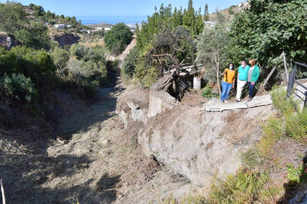 Granada.- La Junta acomete la limpieza de ramblas para evitar daños por lluvias torrenciales