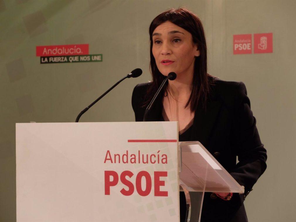 La secretaria de Política Municipal del PSOE de Granada, Olga Manzano