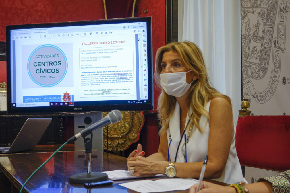 Presentación de los talleres de los centros cívicos