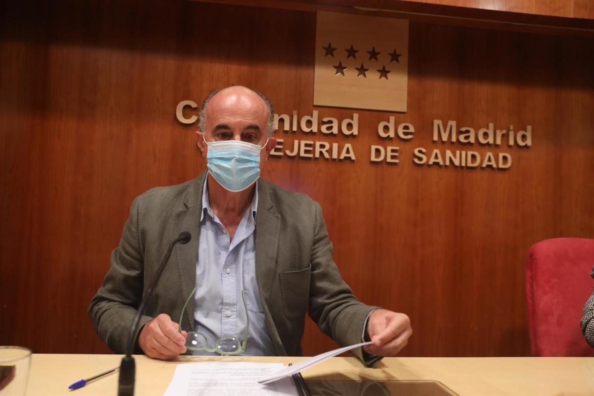 Antonio Zapatero viceconsejero salud pública y covid-19 coronavirus comunidad de madrid