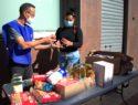 Reparto solidario alimentos exclusión social Inpavi