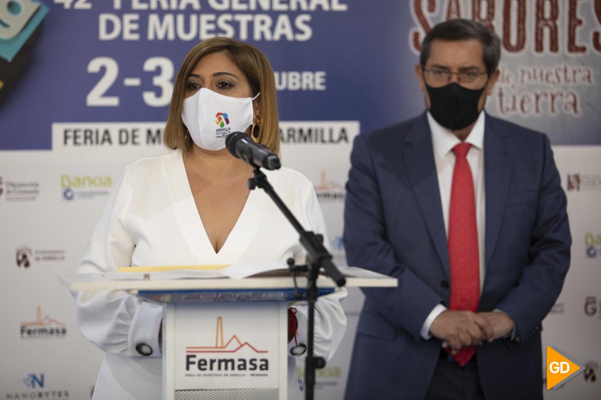 Inauguración de la feria de muestras de Armilla