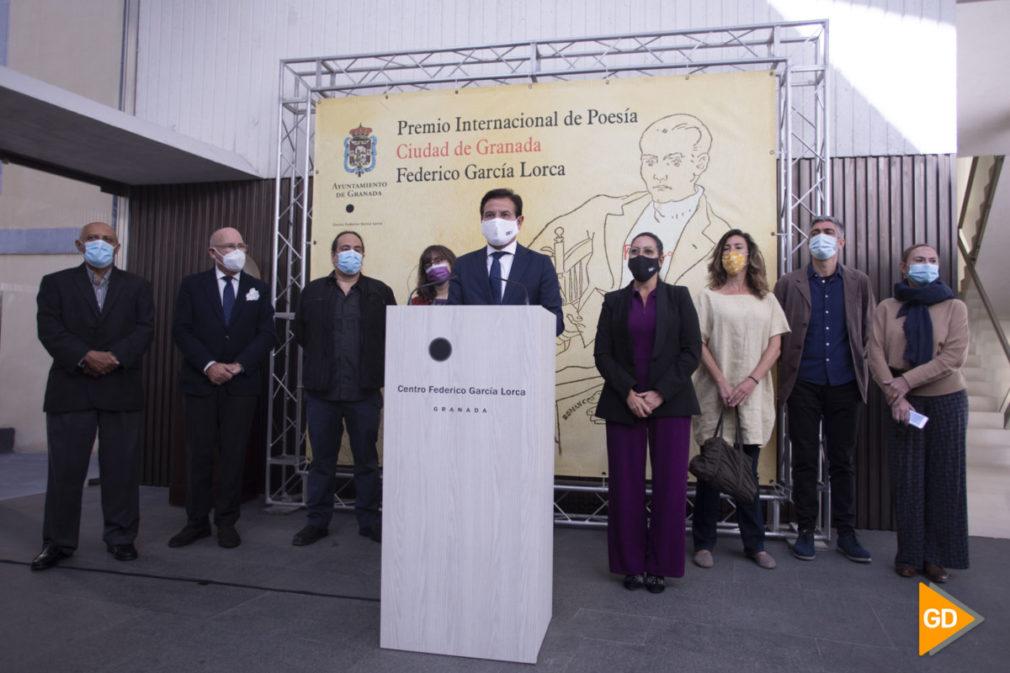 Premios Federico Garcia Lorca en centro Lorca de Granada
