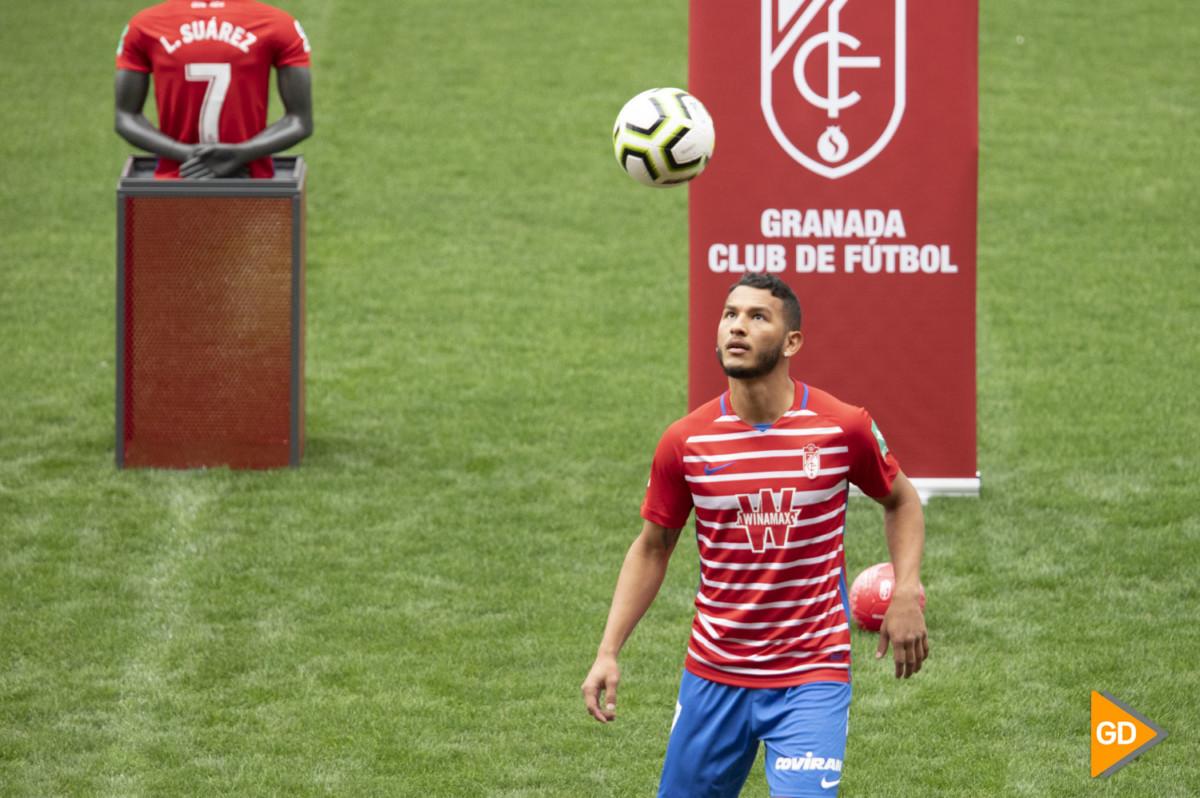 Presentacion de Luis Suarez como nuevo jugador del Granada CF
