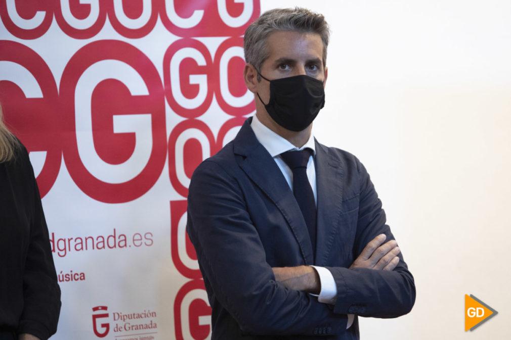 Rueda de prensa de Lucas Macias nuevo director de la OCG