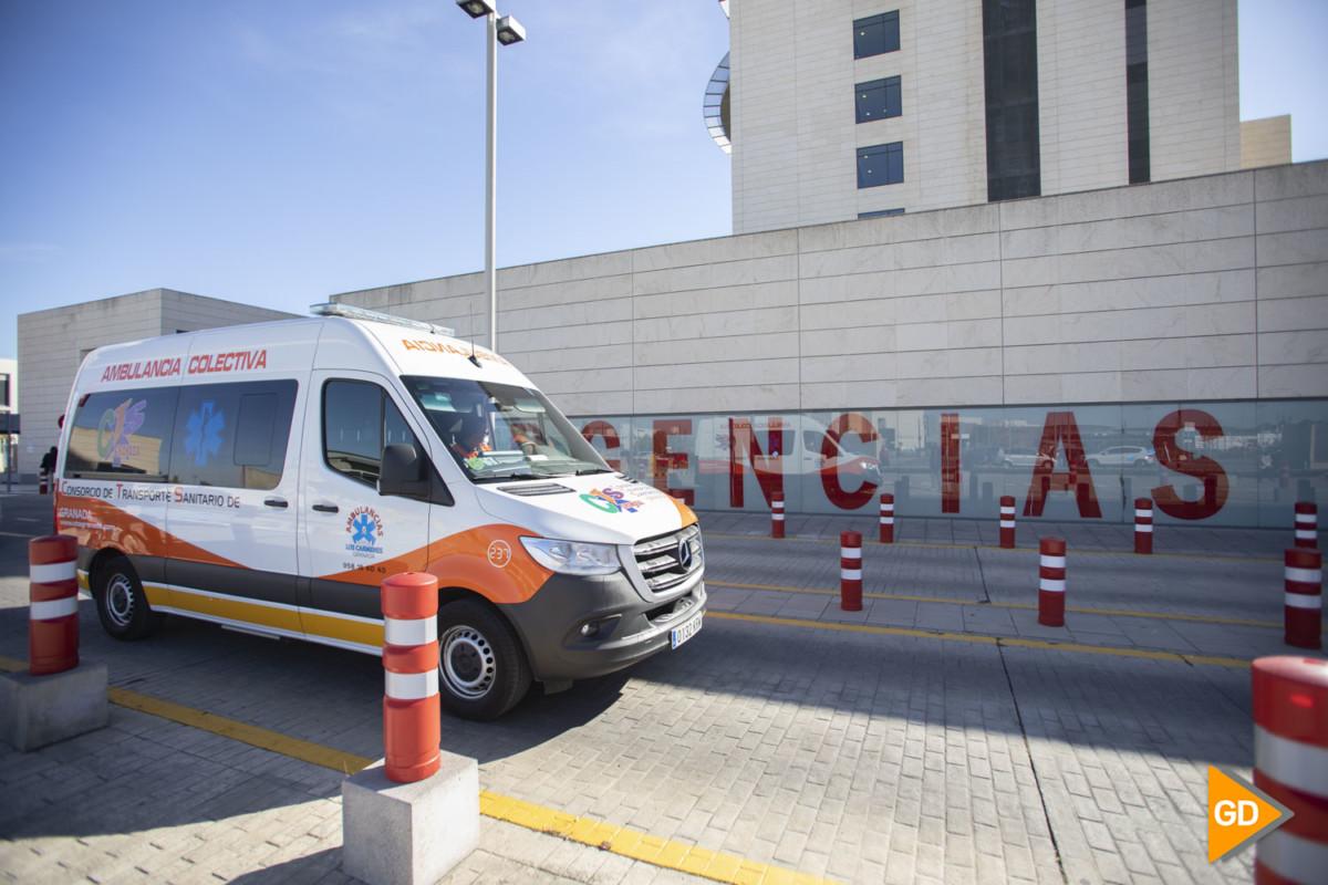 Urgencias del hospital PTS de Granada en la nueva ola de coronavirus