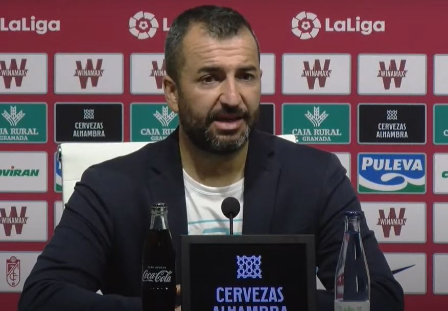 Rueda de prensa Diego Martínez Granada Sevilla Los Cármenes temporada 2020 2021