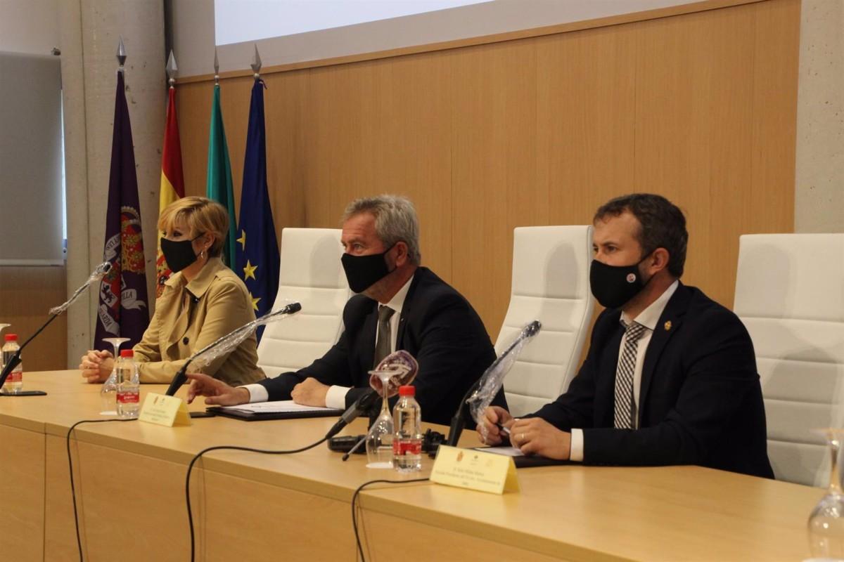 Granada.- Puertos.- El Puerto de Motril y Jaén fomentarán sus relaciones logísticas y económicas