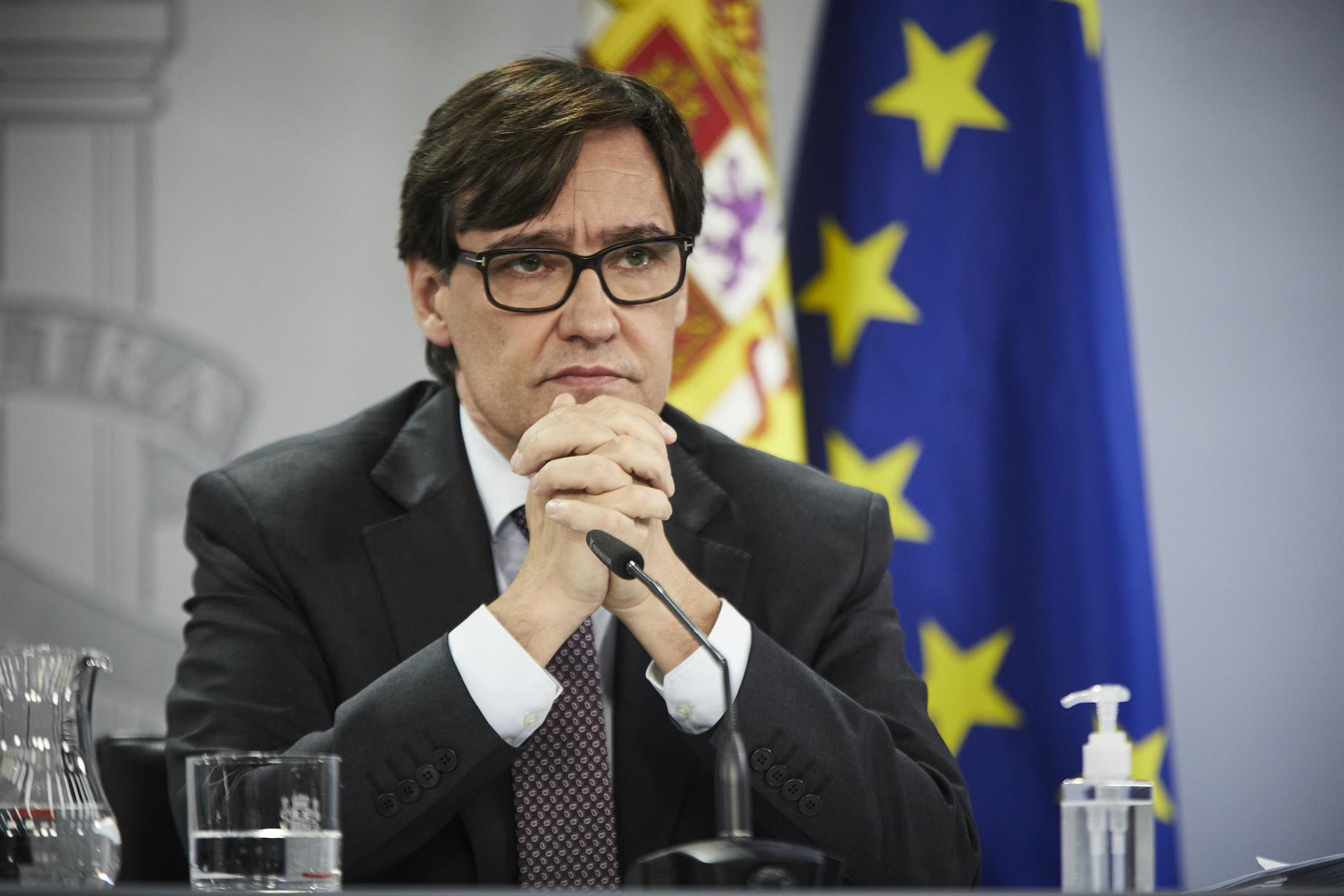 El ministro de Sanidad, Salvador Illa – Foto J. Hellín. POOL