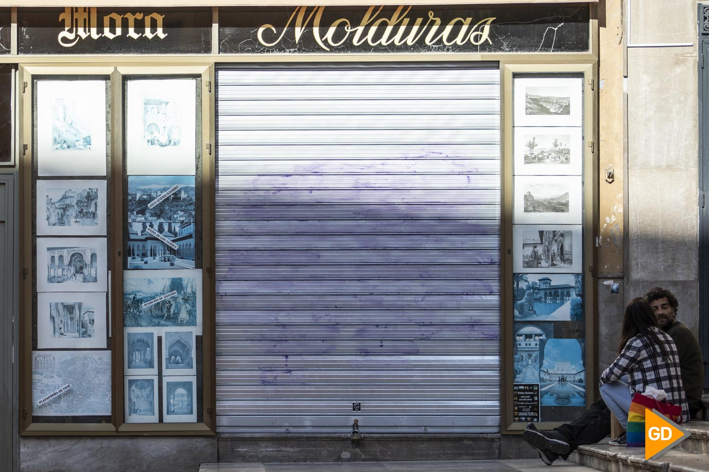 Comercios de Granada durante las restricciones