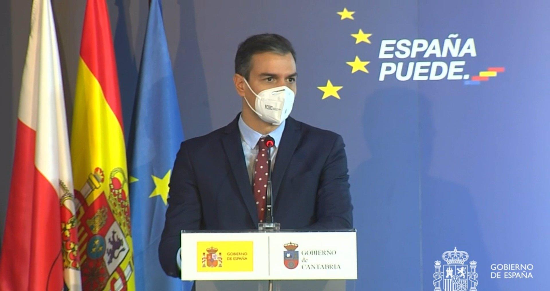 """Cvirus.- Sánchez garantiza que la vacunación será """"equitativa"""" en toda España """"se viva donde se viva"""""""