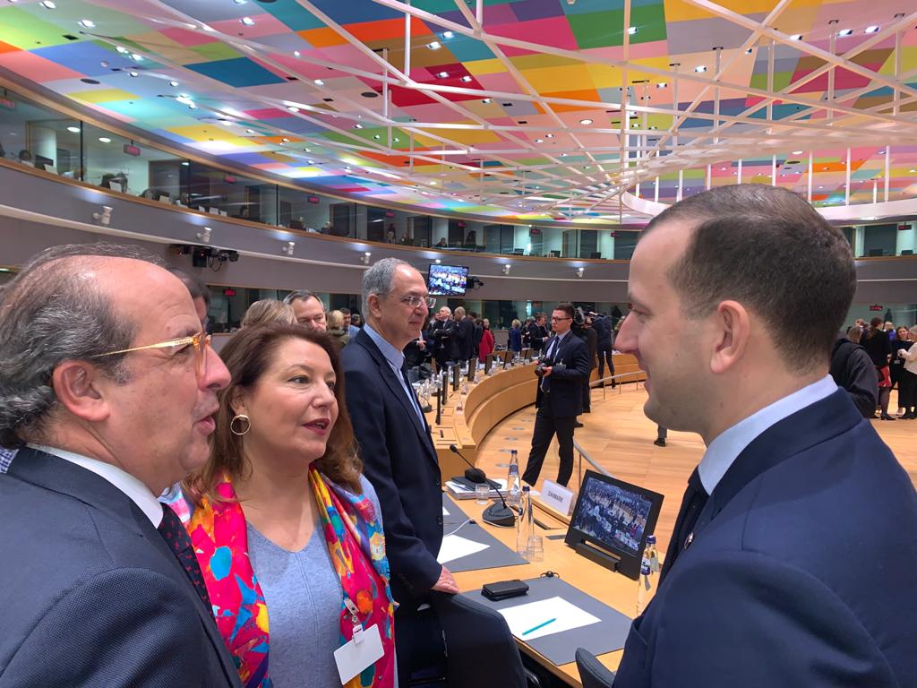 Crespo en Comisión Europea de Medio Ambiente