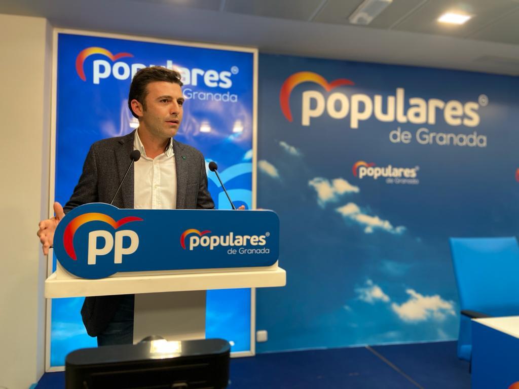 Jorge Saavedra secretario general PP Granada