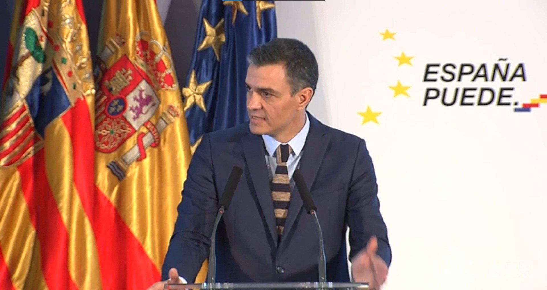 """Cvirus.- Sánchez dice que España es """"el noveno país del mundo en vacunación y el tercero europeo en dosis administradas"""""""