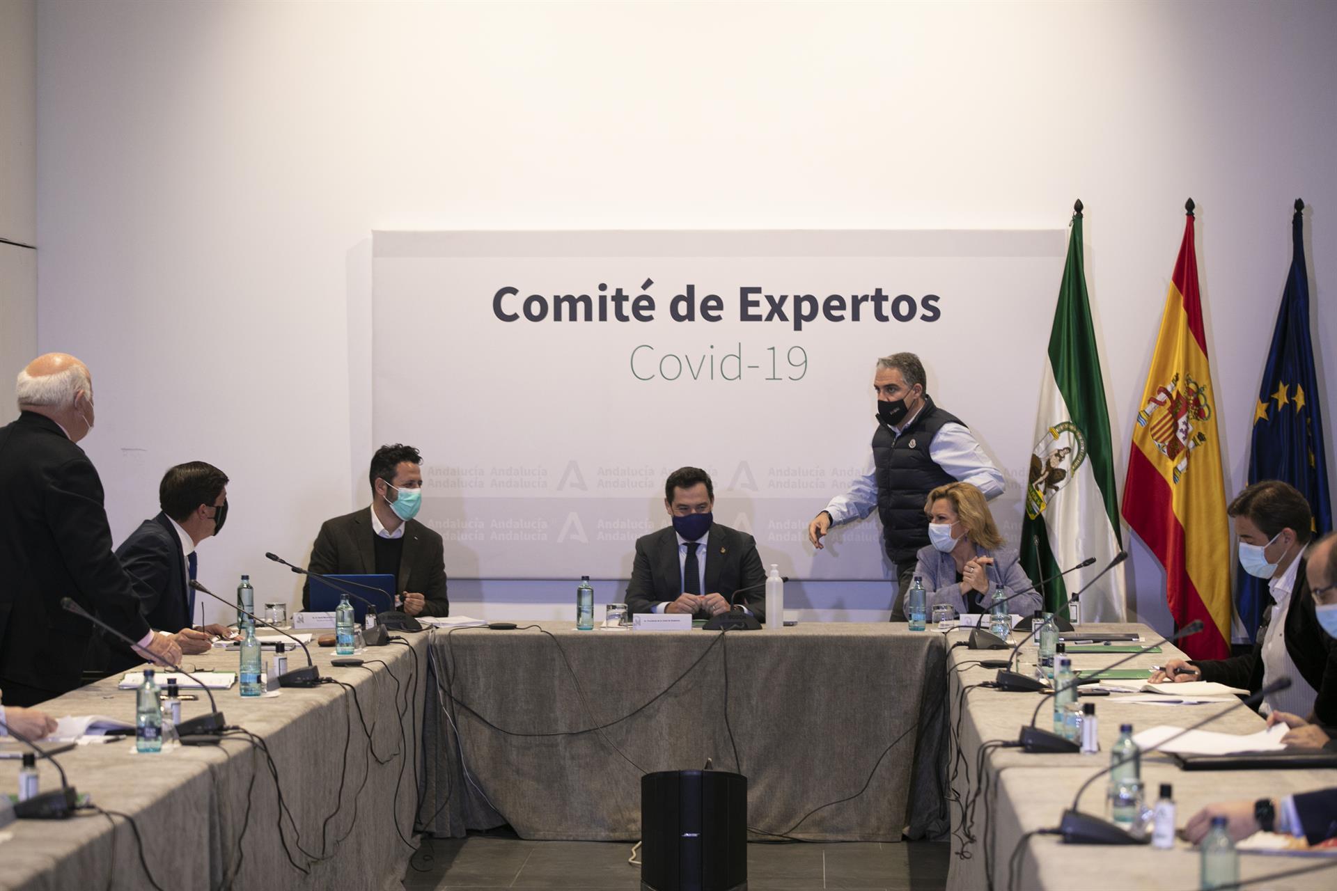 Moreno preside una reunión Comité de Expertos Foto María José López – Europa Pres