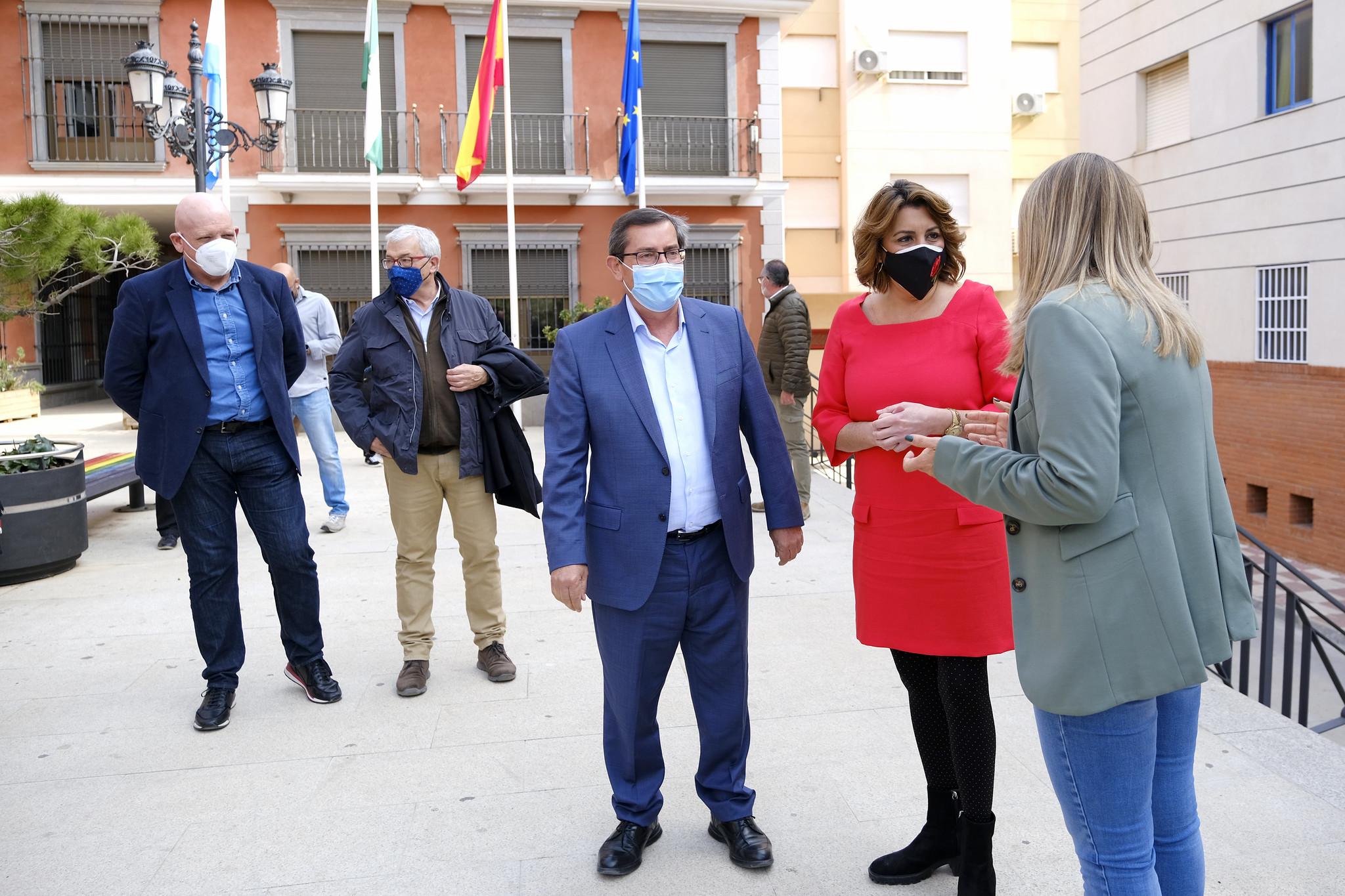 Susana Díaz Pepe Entrena Castell Ferro