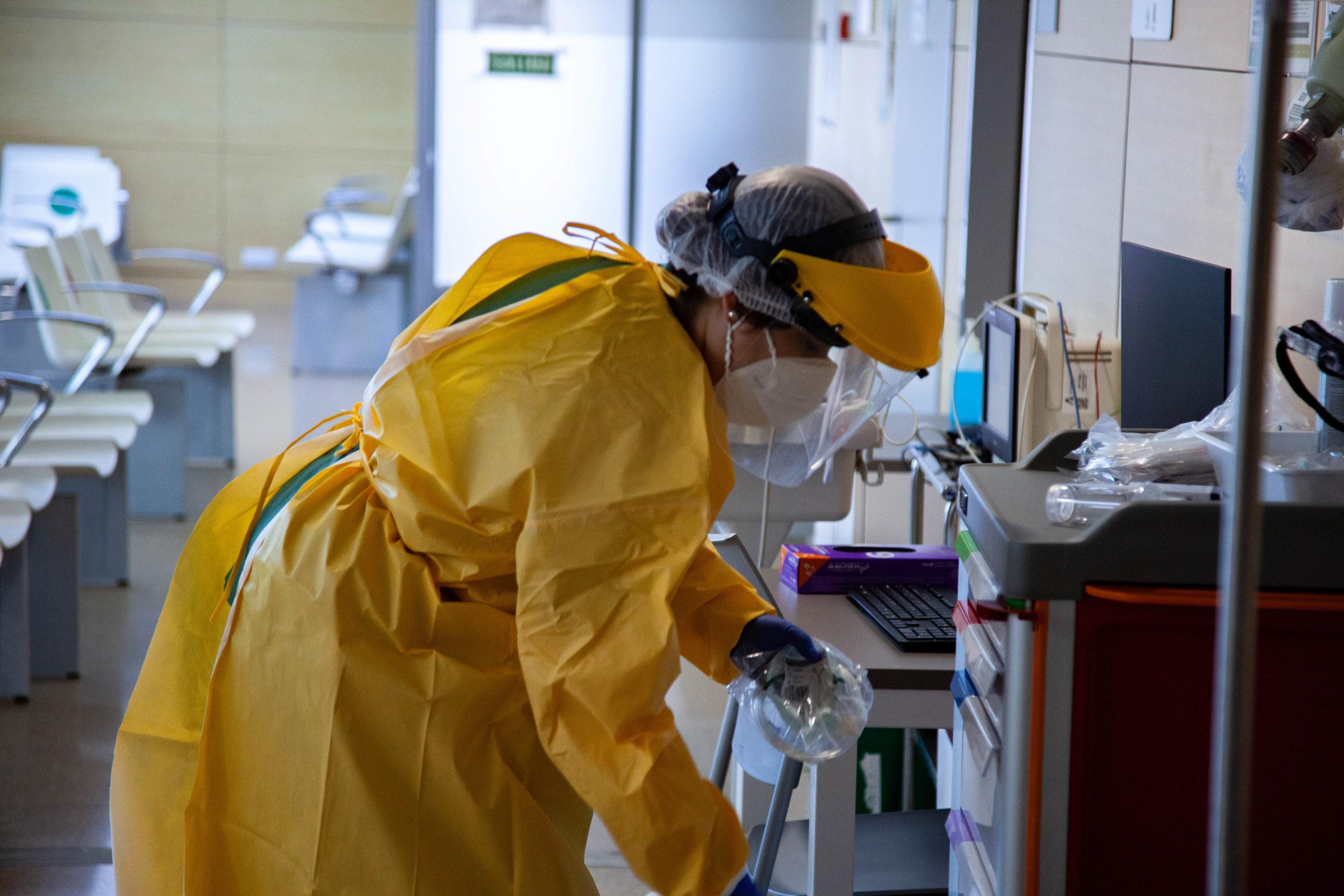 Un año de pandemia Clínico San Cecilio 2