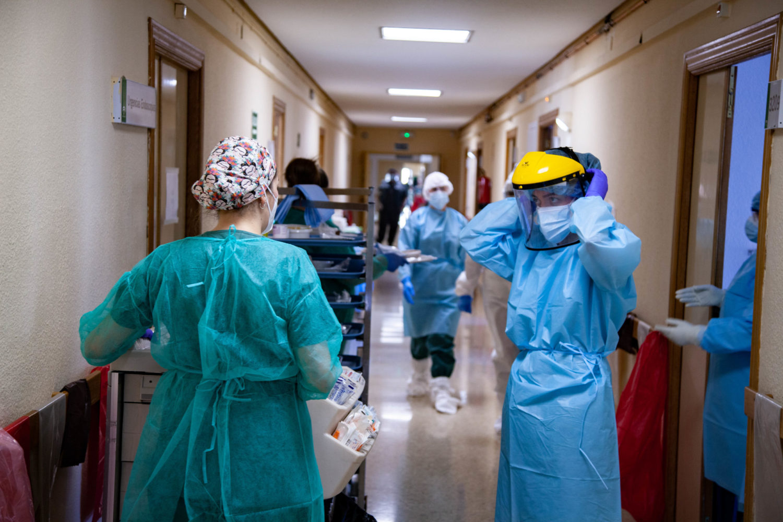 Un año de pandemia Clínico San Cecilio 3