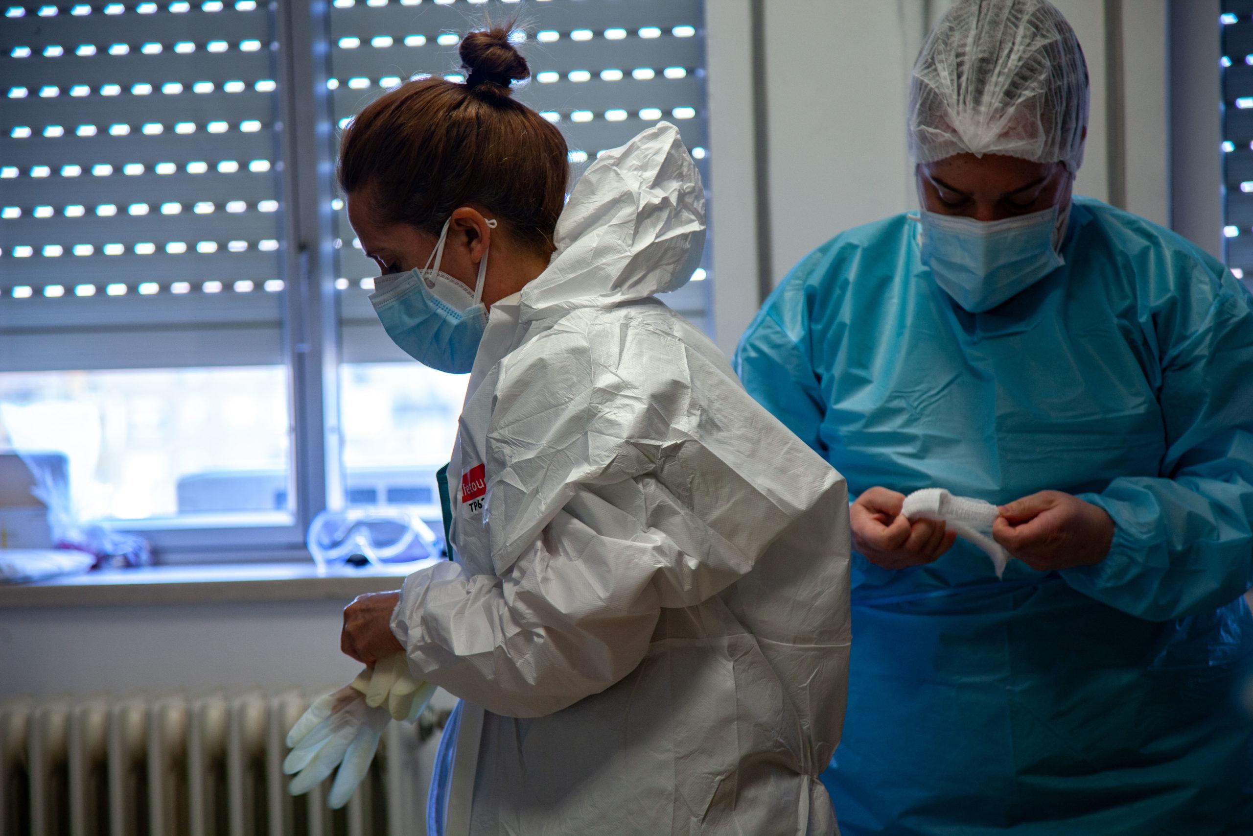 Un año de pandemia Clínico San Cecilio