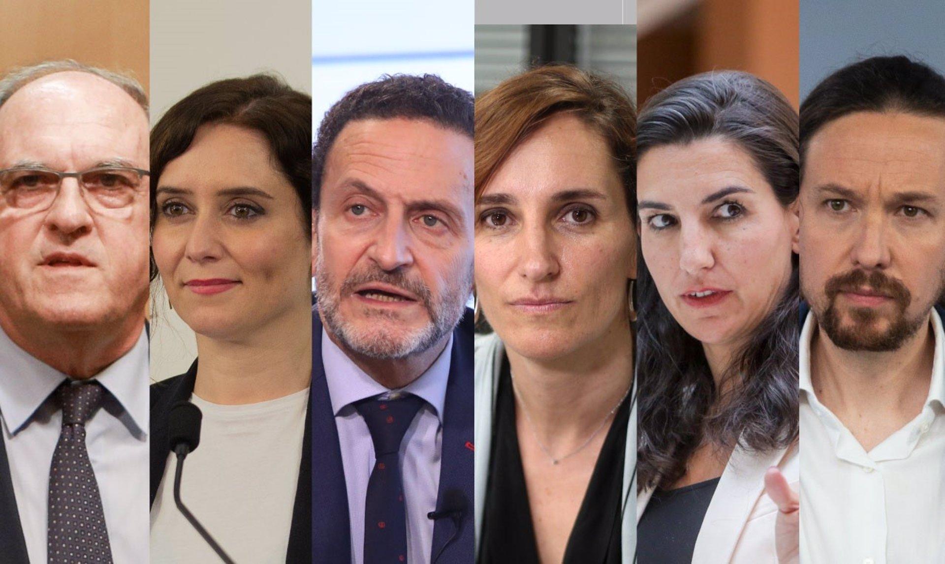 4M.- Ayuso, Bal, Monasterio y Gabilondo votarán en la capital, Iglesias lo hará en Galapagar y García lo hizo por correo