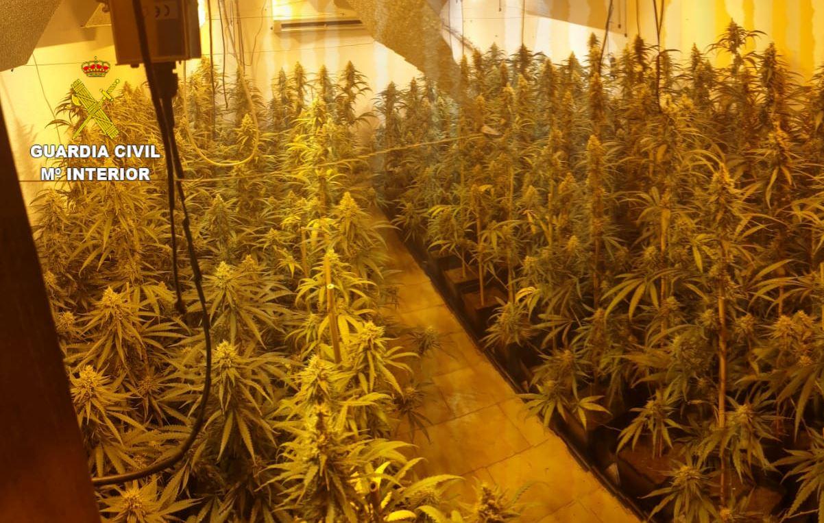 Guardia Civil marihuana Monachil