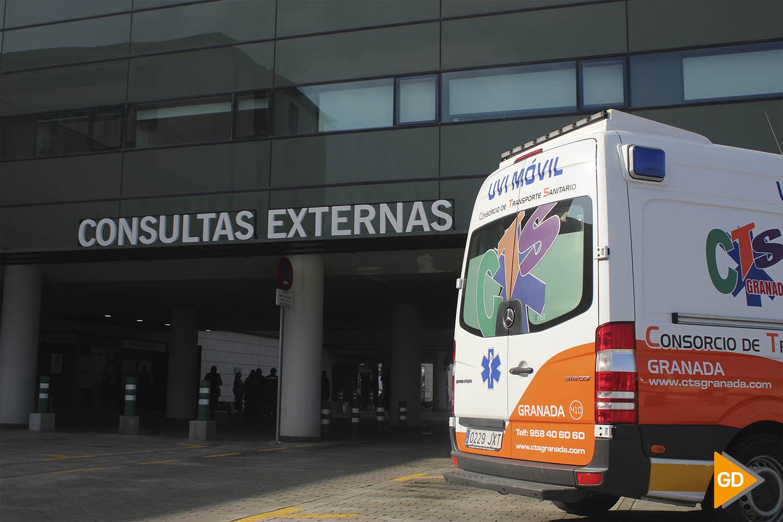 ENTRADA CONSULTAS EXTERNAS HOSPITAL PTS David Canca 17
